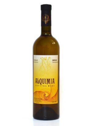Кристаллическое белое полусладкое вино «ALQUIMIA Сrystal Muscat 2011»