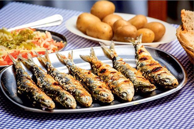 Сардинья-ассада (Sardinha assada)