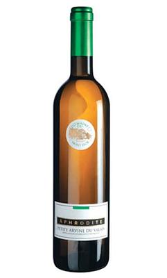 Дополнит вкусовую палитру сыра Грюйер белое сухое вино Aphrodite Petite Arvine Mont D'OR 2016