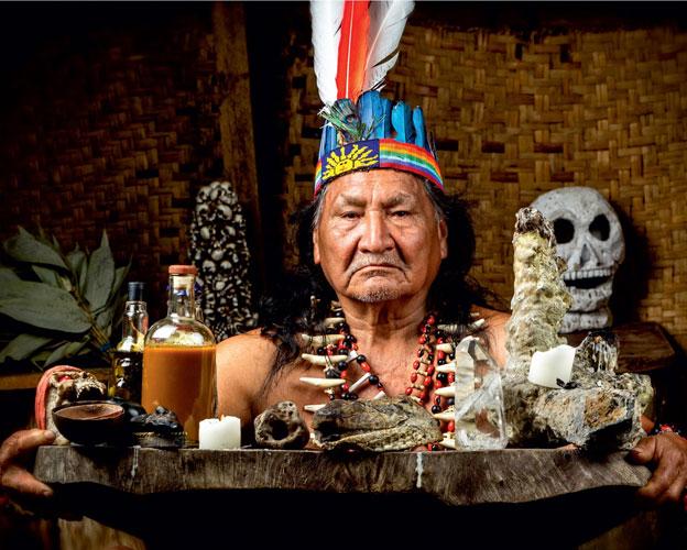 Индейские напитки духа