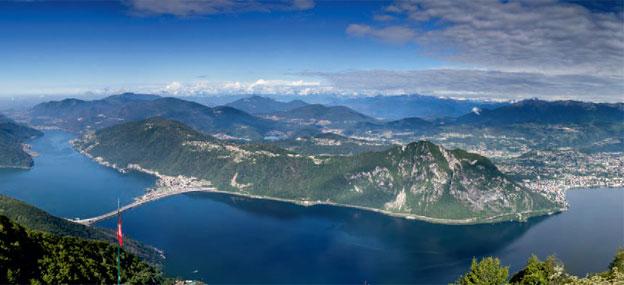Озеро Лугано (Италия)