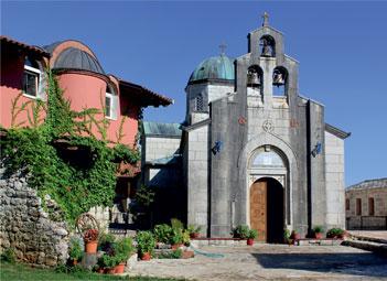 Мужской монастырь Тврдош