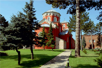 Монастыри в Жиче