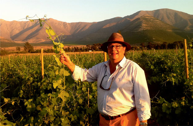 Mauro von Siebenthal: There's wine in Chile!